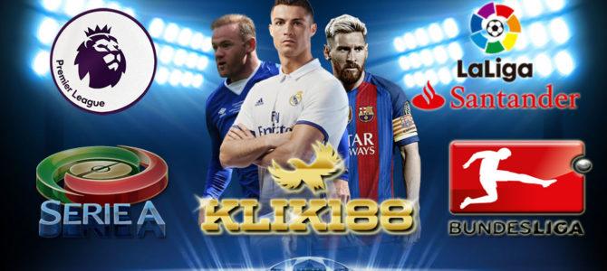 Jadwal Lengkap Bola Pekan Ini 26-28 Agustus 2017