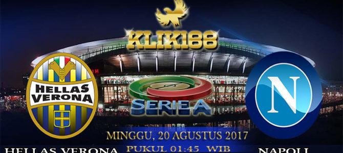 Prediksi Skor Hellas Verona Vs Napoli 20 Agustus 2017
