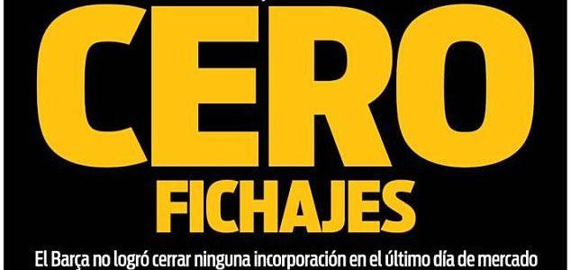 Barcelona Dikritik Media Spanyol Akibat Gagal Dibursa Transfer