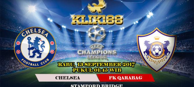 Prediksi Akurat Chelsea vs Qarabag 13 September 2017