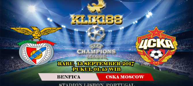 Prediksi Bola Benfica vs CSKA Moscow 13 September 2017