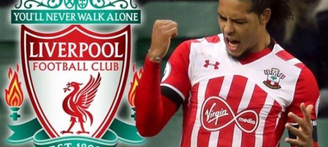 Virgil van Dijk Sepakat Bergabung Dengan Liverpool di Januari
