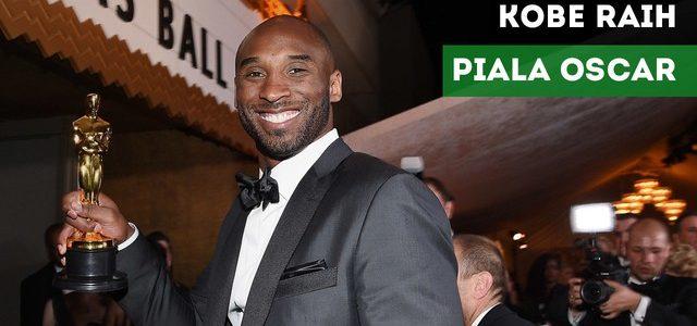 Mantan Bintang Basket Kobe Bryant Raih Piala Oscar