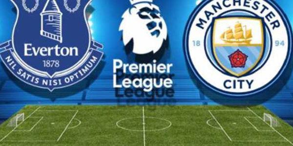 Prediksi Pertandingan Sepakbola Liga Inggris Everton vs Manchester City