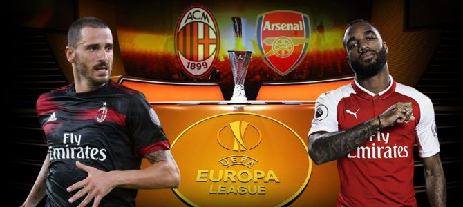Prediksi Skor AC Milan vs Arsenal 09 Maret 2018