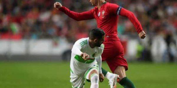 Laporan Pertandingan Sepakbola Timnas Portugal VS Timnas Aljazair